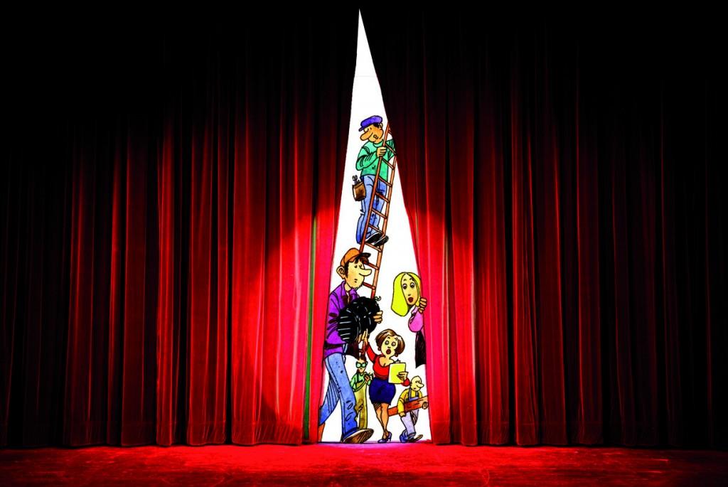 Article Lexique : les métiers du théâtre  TOPO